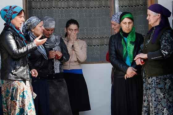 Georgian villagers